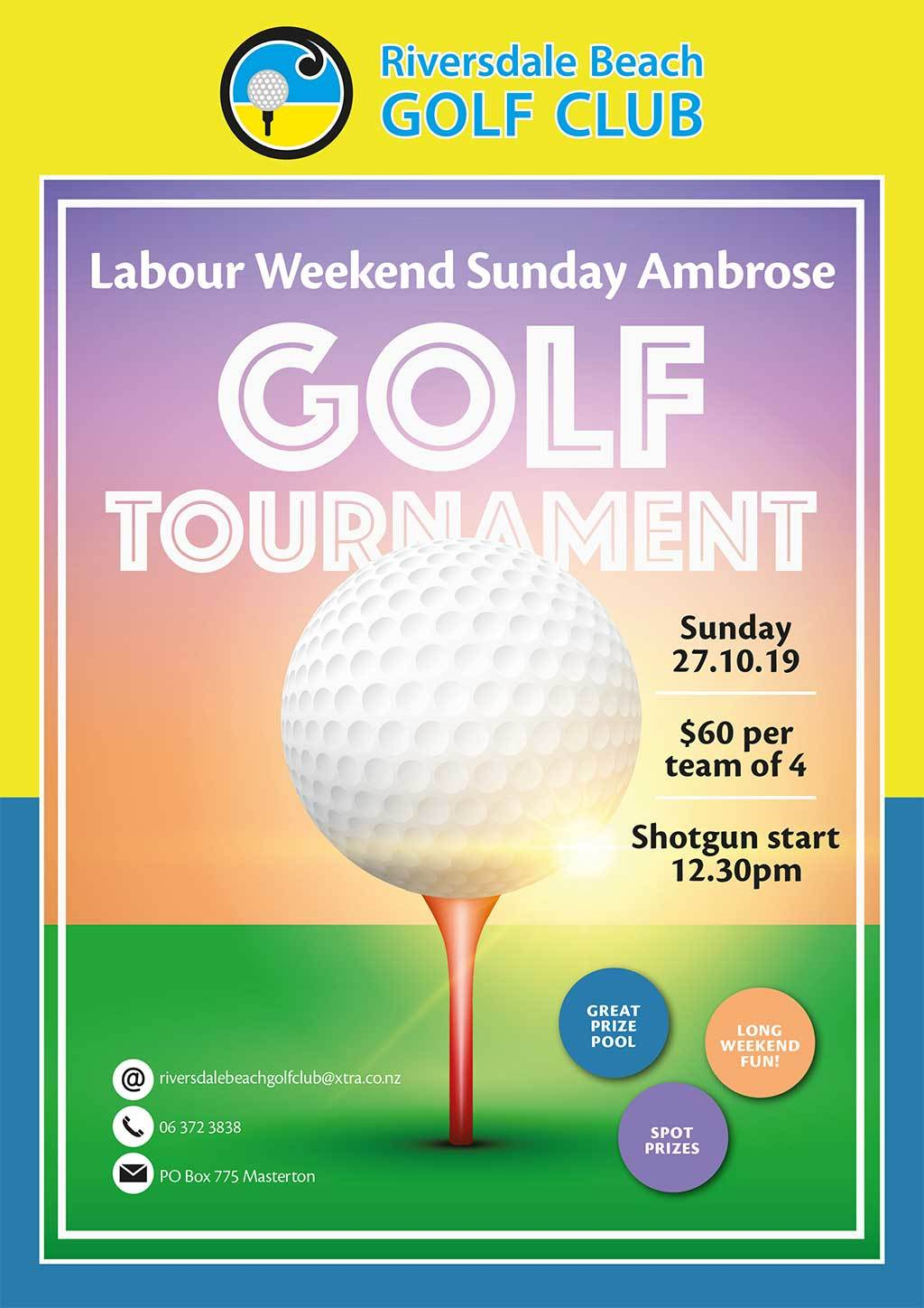 Labour Weekend Ambrose Tournament